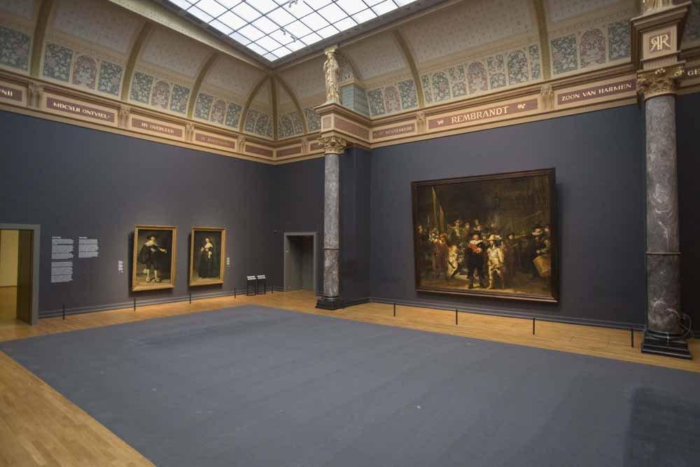 Paintings Rembrandt in Rijksmuseum