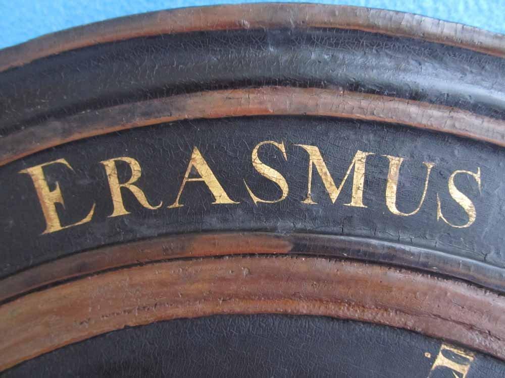 Paneel Erasmus na restauratie