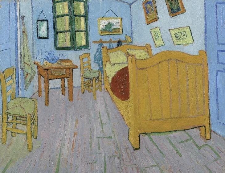 van-gogh-slaapkamer-toekomst – Restauratie van schilderijen