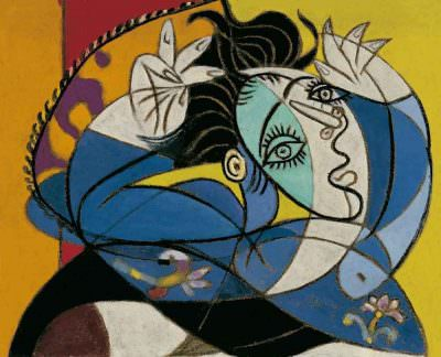 pablo-picasso-woman-with-raised-arms